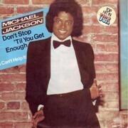 7'' - Michael Jackson - Don´t Stop Til You Get Enough