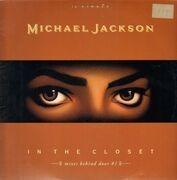 12inch Vinyl Single - Michael Jackson - In The Closet (Mixes Behind Door #1)