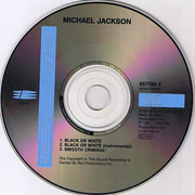 CD Single - Michael Jackson - Black Or White