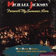 LP - Michael Jackson - Farewell My Summer Love - No Original Cover