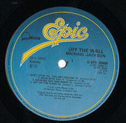 LP - Michael Jackson - Off The Wall - Blue Labels