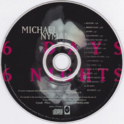 CD - Michael Nyman - 6 Days 6 Nights