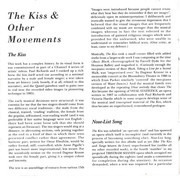 CD - Michael Nyman - The Kiss And Other Movements
