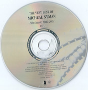 Double CD - Michael Nyman - The Very Best Of Michael Nyman - Film Music 1980-2001