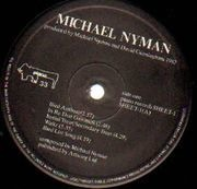 LP - Michael Nyman - Untitled - UK Pressing