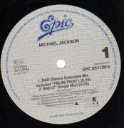 12'' - Michael Jackson - Bad