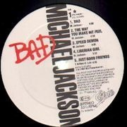 LP - Michael Jackson - Bad