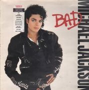 LP - Michael Jackson - Bad - European Tour Sticker