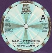 7'' - Michael Jackson - Farewell My Summer Love