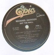 LP - Michael Jackson - Off The Wall