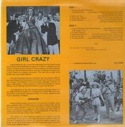 LP - Mickey Rooney, Judy Garland, June Allyson - Girl Crazy