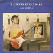 7'' - Mike Oldfield - Pictures In The Dark / Legend