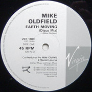12inch Vinyl Single - Mike Oldfield - Earth Moving