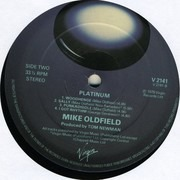 LP - Mike Oldfield - Platinum - 2nd Edition