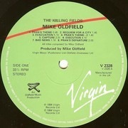 LP - Mike Oldfield - The Killing Fields (Original Film Soundtrack) - still sealed