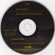 CD - Mike Oldfield - The Songs of Distant Earth