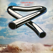 LP - Mike Oldfield - Tubular Bells - green Virgin