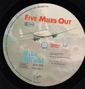 LP - Mike Oldfield - Five Miles Out