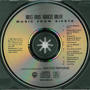 CD - Miles Davis / Marcus Miller - Music From Siesta