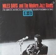 LP - Miles Davis - Miles Davis And The Modern Jazz Giants