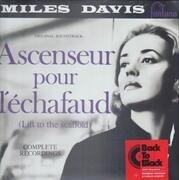 LP - Miles Davis - Ascenseur Pour L'Échafaud (Lift To The Scaffold) - 180 grs