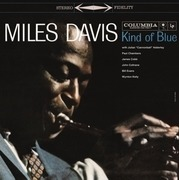 LP - Miles Davis - Kind Of Blue -Coloured- - BLUE, BLACK & WHITE