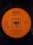 LP - Miles Davis - Miles Davis' Greatest Hits