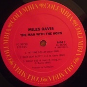 LP - Miles Davis - The Man With The Horn - promo