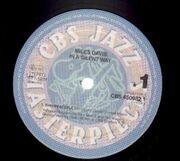 LP - Miles Davis - In A Silent Way