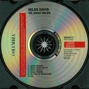 CD - Miles Davis - We Want Miles