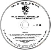 CD - Miles Davis / Marcus Miller - Music From Siesta - With OBI-Strip
