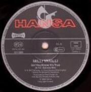 12'' - Milli Vanilli - Girl You Know It's True - N.Y.C. Subway Mix