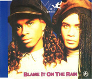 CD Single - Milli Vanilli - Blame It On The Rain
