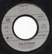 7inch Vinyl Single - Milli Vanilli - Keep On Running