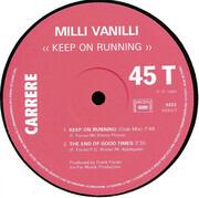 12inch Vinyl Single - Milli Vanilli - Keep On Running