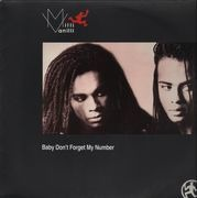 12'' - Milli Vanilli - Baby Don't Forget My Number