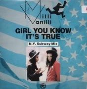12'' - Milli Vanilli - Girl You Know It's True
