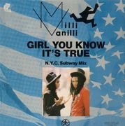 12'' - Milli Vanilli - Girl You Know It's True - N.Y.C. Subway Mix