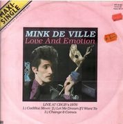 12inch Vinyl Single - Mink DeVille - Love And Emotion