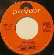7inch Vinyl Single - Minor Detail - Take It Again / 20th Century