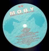 LP - Moby - Everything Is Wrong
