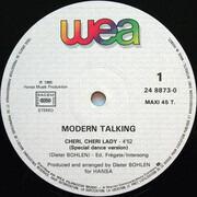 12inch Vinyl Single - Modern Talking - Cheri, Cheri Lady