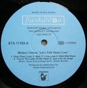 LP - Modern Talking - Let's Talk About Love - The 2nd Album