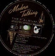 LP - Modern Talking - The 1st Album - Club Edition, Embossed Cover