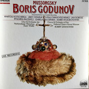 LP-Box - Modest Mussorgsky - Boris Godunov Gesamtaufnahme
