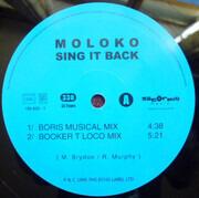 12inch Vinyl Single - Moloko - Sing It Back - Blue label