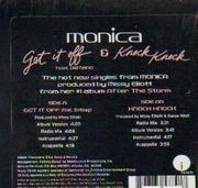12'' - Monica - Get It Off (feat. Dirtbag) / Knock Knock