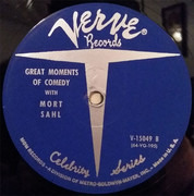 LP - Mort Sahl - Great Moments Of Comedy With Mort Sahl