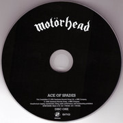 Double CD - Motörhead - Ace Of Spades