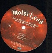 LP-Box - Motörhead - Better Motörhead Than Dead - Live At Hammersmith